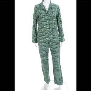 Tory Burch two piece pajama set